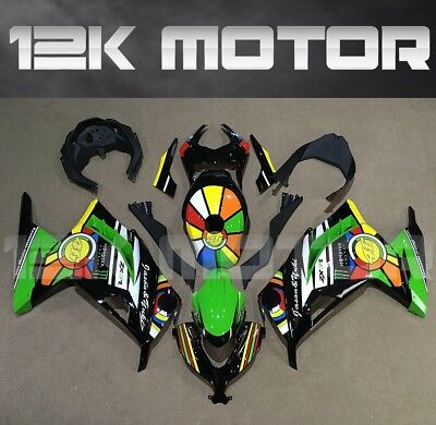 Fairings Set Bodywork Kit For KAWASAKI NINJA300 2013 2014 2015 2016 Plastic 73