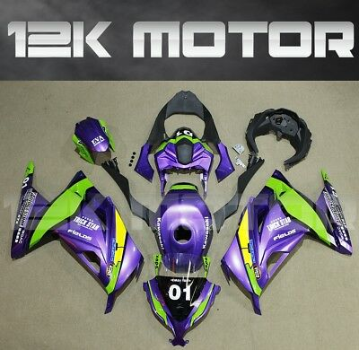 KAWASAKI NINJA300 Fairings Set Bodywork Kit 2013 2014 2015 2016 Plastic Green 79