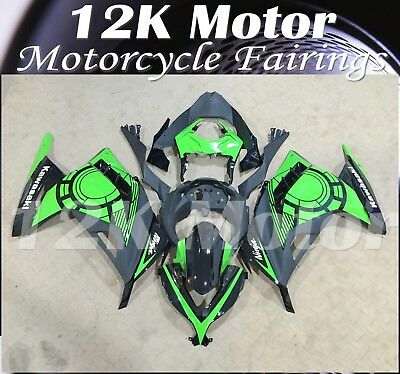 KAWASAKI NINJA300 Fairings Set Bodywork Kit 2013 2014 2015 2016 Plastic Green 83