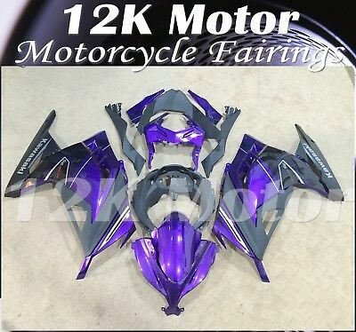 KAWASAKI NINJA300 Fairings Set Bodywork Kit 2013 2014 2015 2016 Plastic Purple84