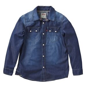 LEVI'S Camicia Jeans Bambino Ragazzo LS SHIRT NOS N91200H-46