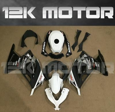 KAWASAKI NINJA300 Fairings Set Bodywork Kit 2013 2014 2015 2016 Plastic White 86