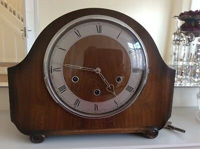 vintage chiming clock.smiths.westminister chime