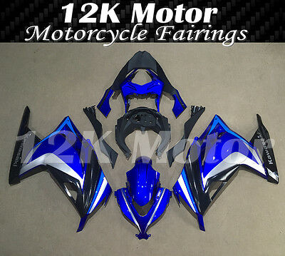 KAWASAKI NINJA300 Fairings Set Bodywork Kit 2013 2014 2015 2016 Plastic Blue 101