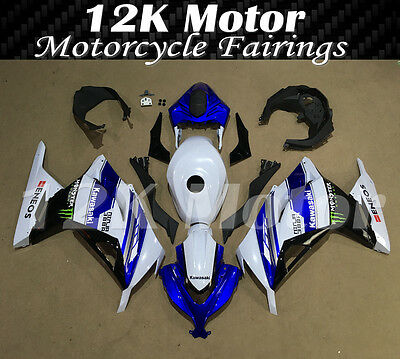 KAWASAKI NINJA300 Fairings Set Bodywork Kit 2013 2014 2015 2016 Plastic Blue 102
