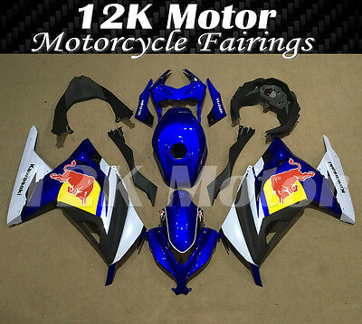 KAWASAKI NINJA300 Fairings Set Bodywork Kit 2013 2014 2015 2016 Plastic Blue 103