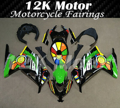 KAWASAKI NINJA300 Fairings Set Bodywork Kit 2013 2014 2015 2016 Plastic 106