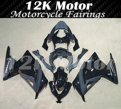 KAWASAKI NINJA300 Fairings Set Bodywork Kit 2013 2014 2015 2016 Plastic Black107