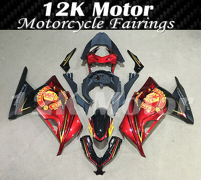 KAWASAKI NINJA300 Fairings Set Bodywork Kit 2013 2014 2015 2016 Plastic 110