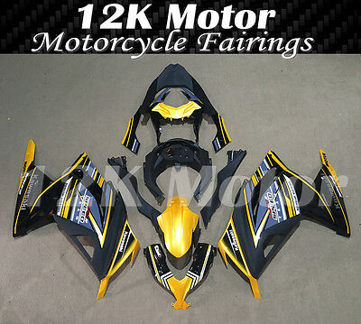 KAWASAKI NINJA300 Fairings Set Bodywork Kit 2013 2014 2015 2016 Plastic Gold 111