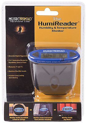 Music Nomad The HumiReader Monitor - 3 in 1