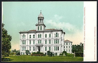 CONVENT of SACRED HEART~OAKLAND,CALIFORNIA~EARLY 1900s ORIGINAL UNUSED POSTCARD