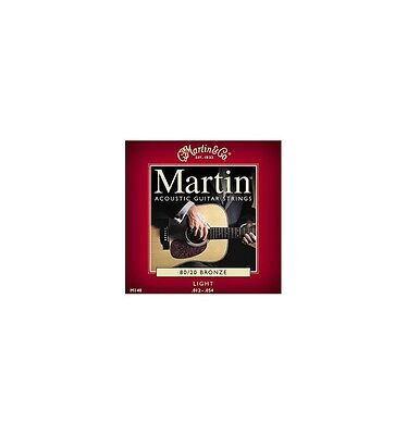 Martin M140 - Jeu de cordes Light 12-54 guitare acoustique