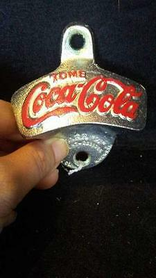 Tome Coca-Cola Wall Mount Opener - Very Rare Licensed Product