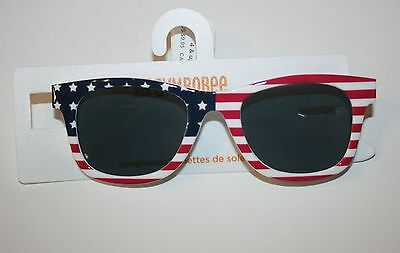 New Gymboree Outlet Flag Red White & Blue Sunglasses Size 2-4 Years NWT