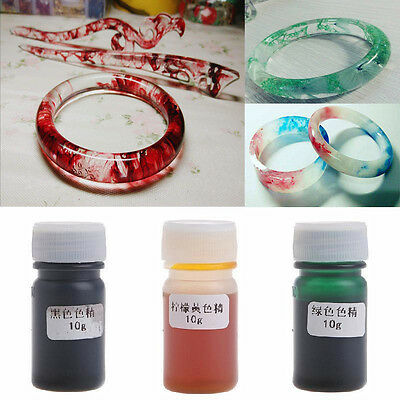 Liquid Silicone Resin Pigment Dye DIY Making Jewelry Crafts Accessories 10g Hot