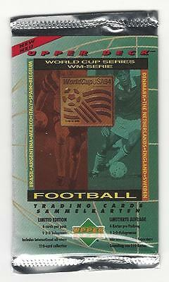OVP Booster Tüte Original UPPER DECK  World Cup USA 94 (deutsche Ausgabe 1994)