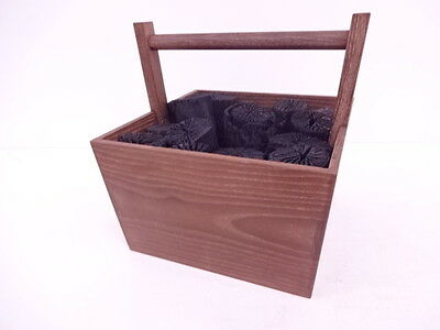 3087409: Japanese Tea Ceremony / Mulberry Handled Charcoal Bucket