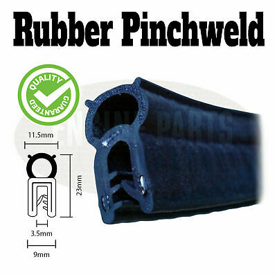 Pinchweld pinch weld rubber seal toolbox car van boot seal door edge per metre