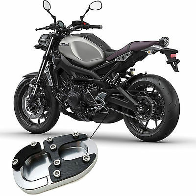 Yamaha XSR 900 2016-2017 Motorcycle Side Stand Shoe Puck Black Alloy XSR900