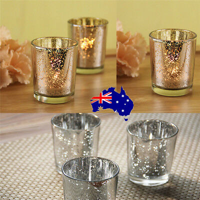 Glass Tea Light Candle Holders Christmas Party Wedding Home Decoration ON