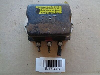 Fiat 500 600 850 T Regler Generator Voltage regulator Lichtmaschinenregler