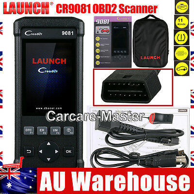 Launch CReader CR9081 Auto OBD2 Scan Diagnostic Tool ABS+Oil+EPB+BMS+SAS+DPF