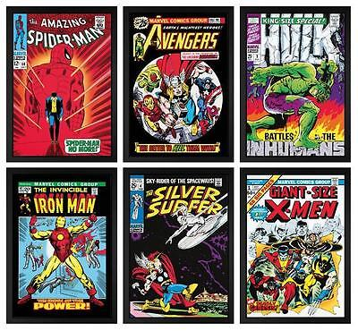 Marvel Superheroes 2013 Portfolio Limited Edition Prints Signed by Stan Lee (SA)