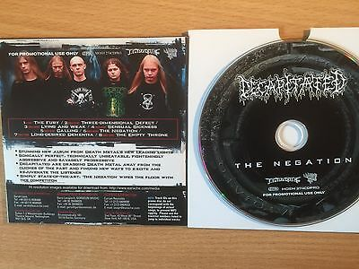 "DECAPITATED-""The Negation""- Rare Promo Only CD 2004-Death Metal-BRAND NEW"