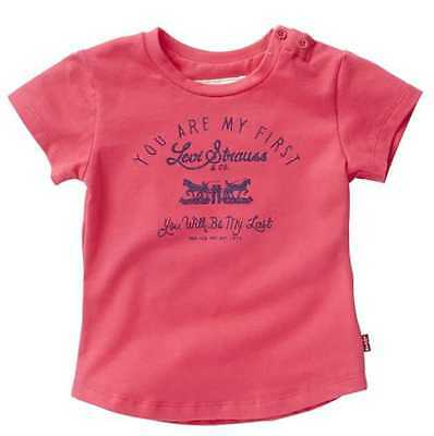 Levi'S T-shirt Rossa Baby Bambina N91050H-85 Fucsia