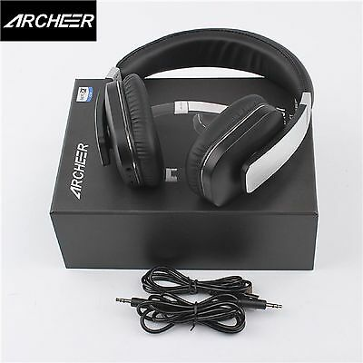 Archeer AH07 Wireless Bluetooth Stereo Headphone Headset NFC with Mic for  iPhone 75849fddcf8e