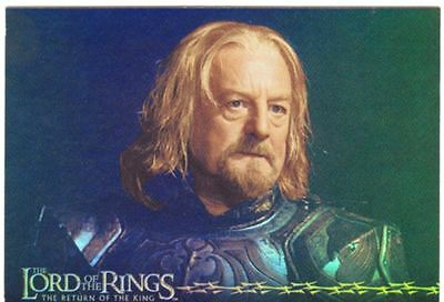 Lord Of The Rings RotK Prismatic Foil Chase Card 8 Of 10