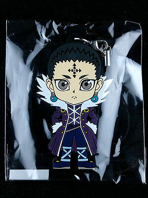 Hunter x Hunter Rubber Strap Key Chain official UTE Chrollo Lucilfer 3 New