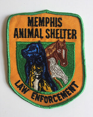 Vintage Patch Memphis Animal Shelter Law Enforcement
