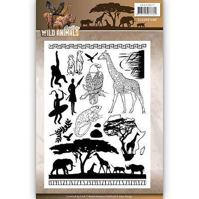 Stempel - Clearstamp - Wild Animals  von Amy Design (ADCS10017)