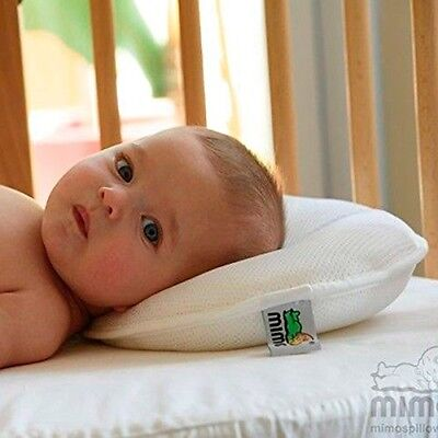 M-SIZE Mimos Baby Pillow For Flat Head (Plagiocephaly) - Air Flow Safety Device