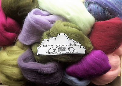 100g Wool Roving  / Merino, British, Natural, Needle felting
