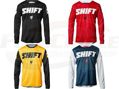 Shift MX Racing 2018 Whit3 Ninety Seven Jersey Adult Sizes ATV/BMX/MTB Off Road