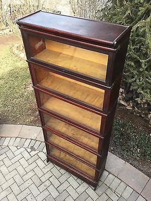 Antique Macey Oak 6 Stack Barrister Bookcase