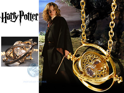 Collana Ciondolo Harry Potter Giratempo Pendente Ermione Granger Time Turner