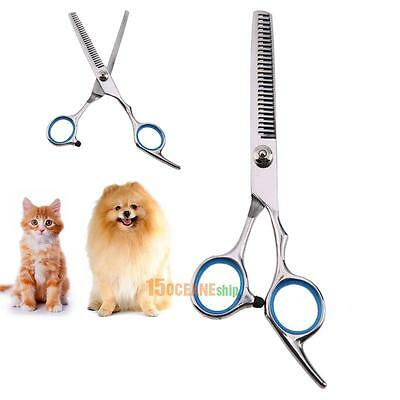 7 Inch Professional Pet Dog Grooming Thinning Scissors Toothed Blade Shears Hot