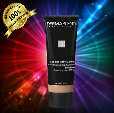 Dermablend Leg and Body Makeup SPF FAIR IVORY 3.4 oz