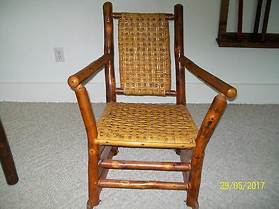 Old Hickory Furniture Company vintage rocker - excellent condition