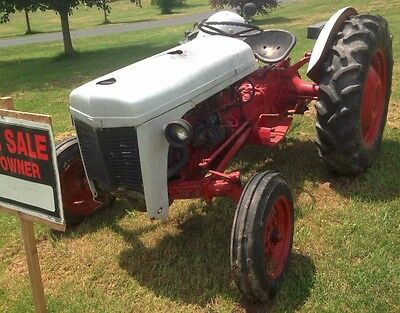 Original 1952 Ferguson 30 Tractor. Good working condition. Red and White.