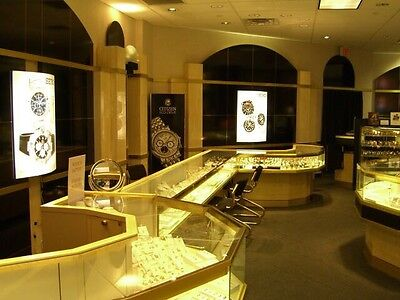 Beautiful Jewelry Show cases