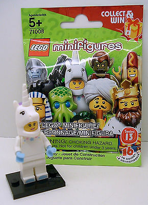 LEGO Series 13 SEALED Little Unicorn Girl Costume My Pony Minifigure 71008 Horse