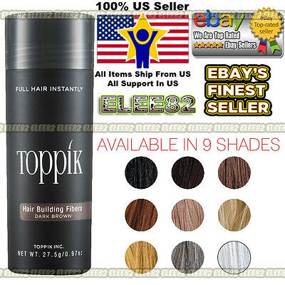 """TOPPIK Hair Loss Building Fiber """"LARGE"""" 27.5g """"FREE and FAST SHIPPING IN USA"""""""