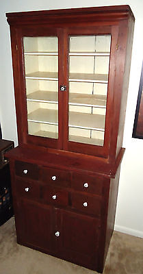 19th Century General Store or Medical Cabinet