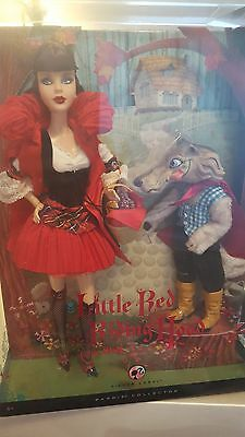 Little Red Riding Hood and the Wolf 2008 Barbie Doll Silver Label