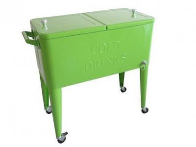 Permasteel PS 203 LIME Patio Cooler, 80 Quart, Lime